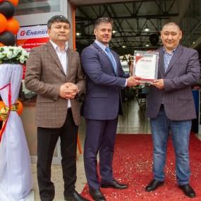 Открытие СТО G-Energy Service в Кызылорде
